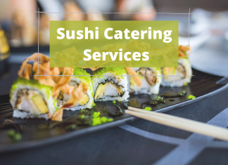 Sushi Catering Deliveries Around Cairo